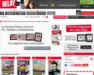 Abonnement magazine Relay