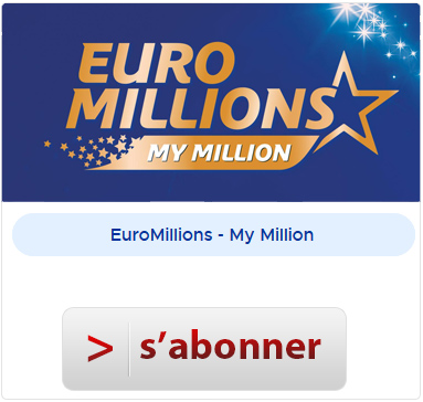 Abonnement à Euromillions My Million